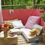 Boemski i šik balkon za početak proleća