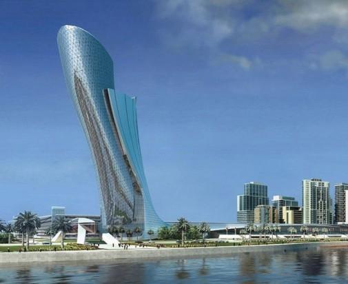 Capital Gate – nagnuti toranj u Abu Dabiju slika2