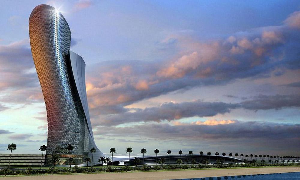 Capital Gate – nagnuti toranj u Abu Dabiju
