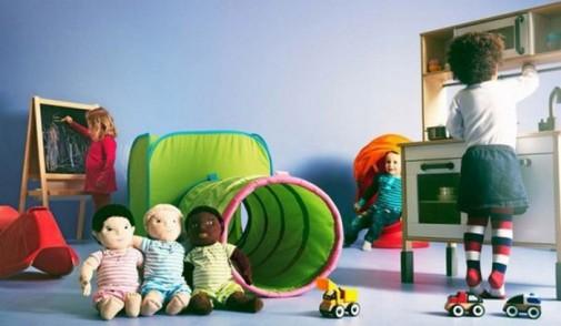 Dečija soba sa IKEA nameštajem slika2