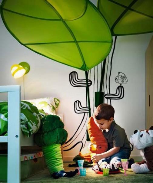 Dečija soba sa IKEA nameštajem slika4