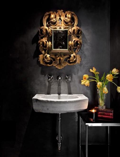Dizajn kupatila u gotskom stilu slika2