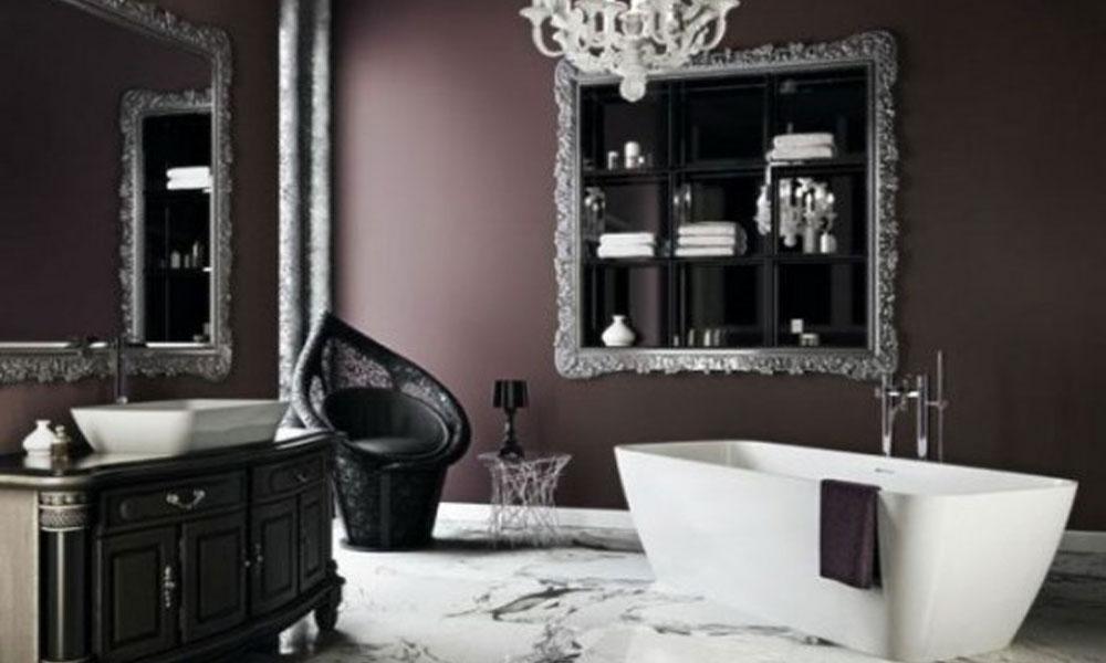 Dizajn kupatila u gotskom stilu