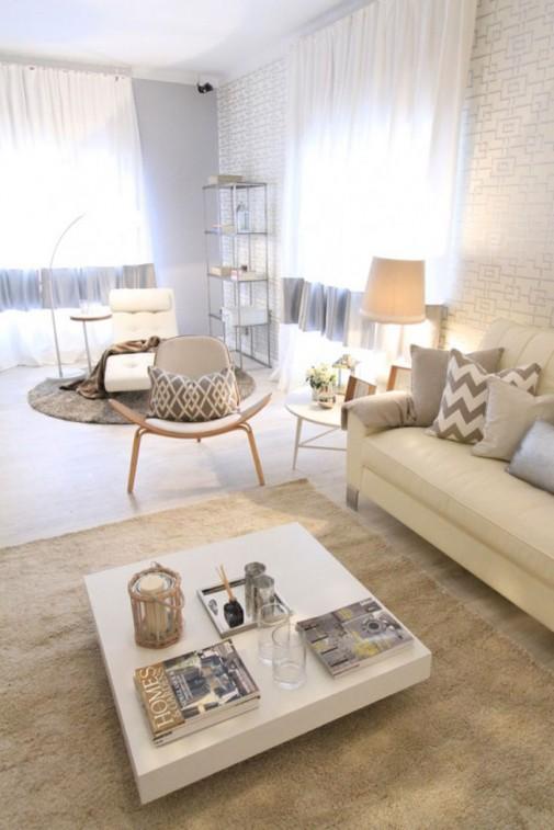 Dizajn neutralnih dnevnih soba slika3