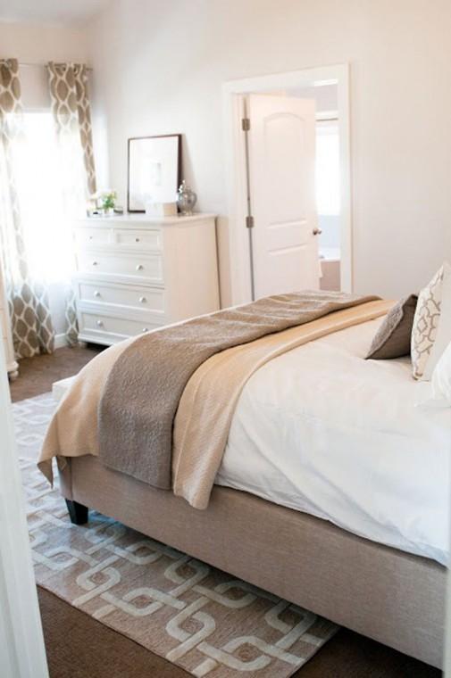 Dizajn neutralnih spavaćih soba slika2