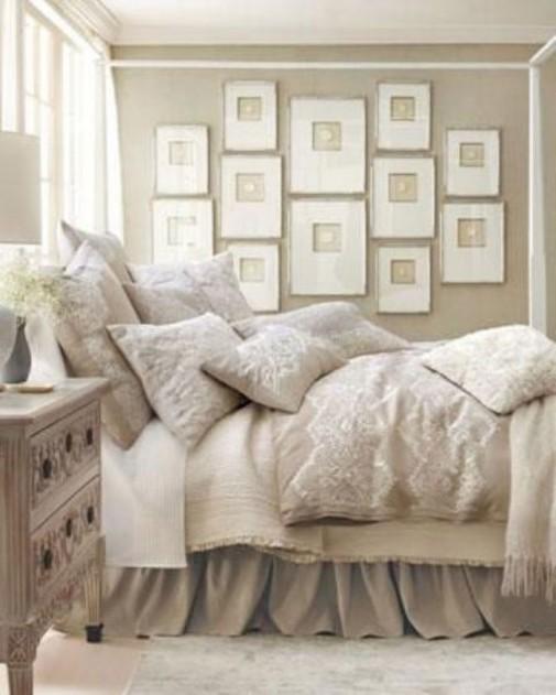 Dizajn neutralnih spavaćih soba slika3