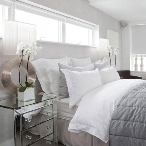 Dizajn neutralnih spavaćih soba slika4