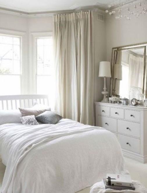 Dizajn neutralnih spavaćih soba slika5