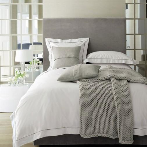 Dizajn neutralnih spavaćih soba slika6