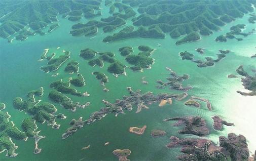 Drevni podvodni grad u Kini slika2