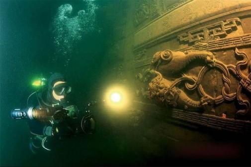 Drevni podvodni grad u Kini slika3