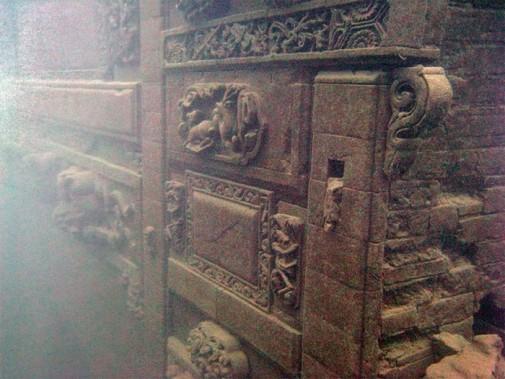 Drevni podvodni grad u Kini slika4