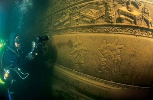 Drevni podvodni grad u Kini slika5
