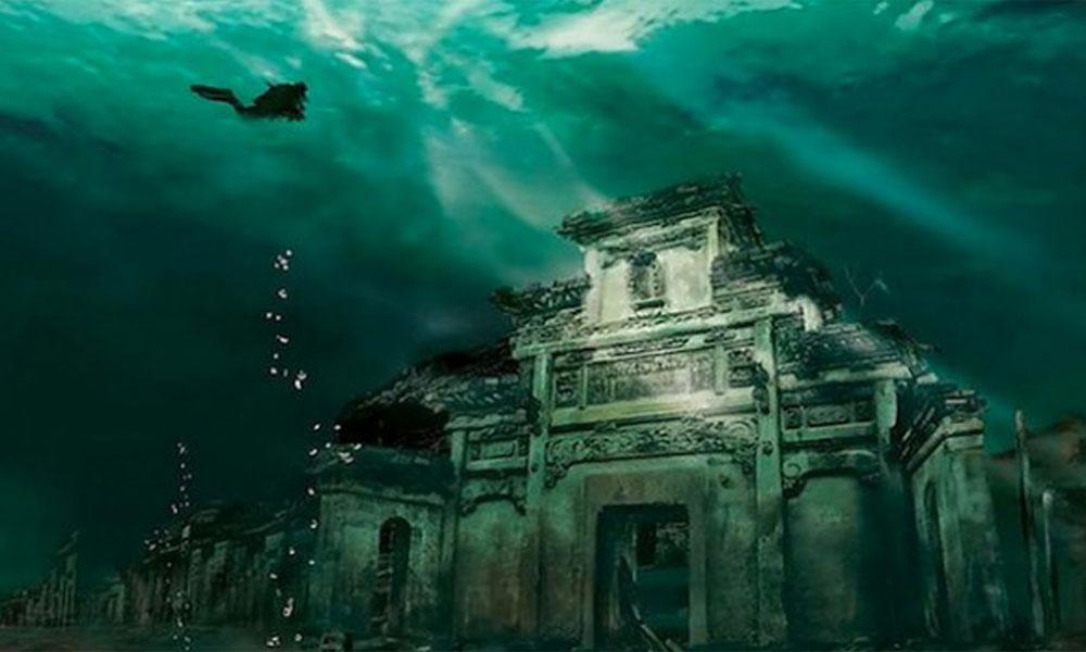 Drevni podvodni grad u Kini