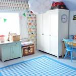 Eklektične sobe za decu