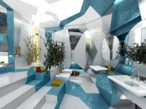 Futurizam u kupatilu slika 2