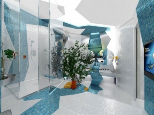 Futurizam u kupatilu slika 3