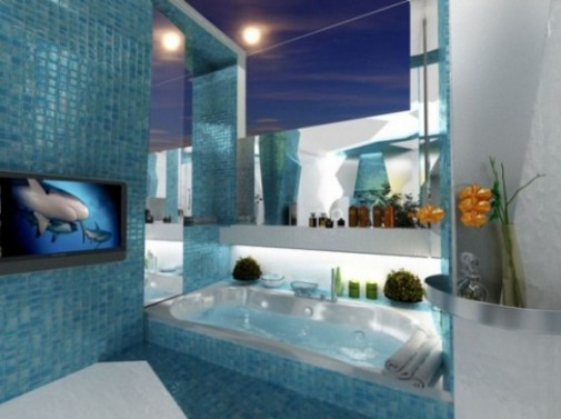 Futurizam u kupatilu slika 4
