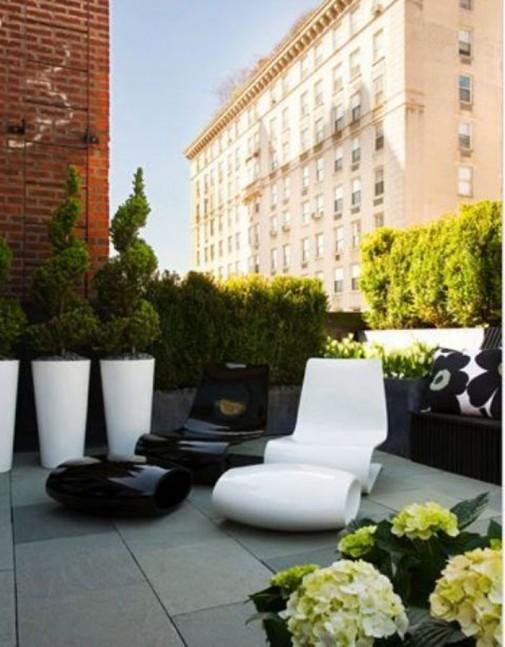 Ideje za male udobne terase slika3