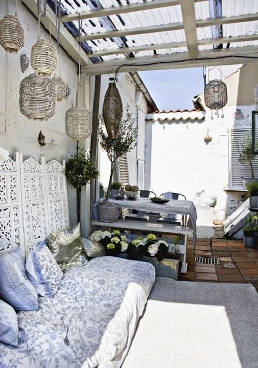 Ideje za male udobne terase slika4