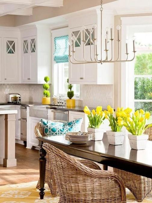 Inspirativna prolećna dekoracija kuhinje slika4