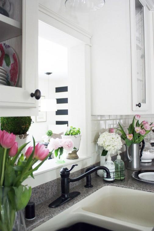 Inspirativna prolećna dekoracija kuhinje slika5