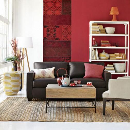 Jastuci i jastučići kao dekoracija u dnevnoj sobi slika4