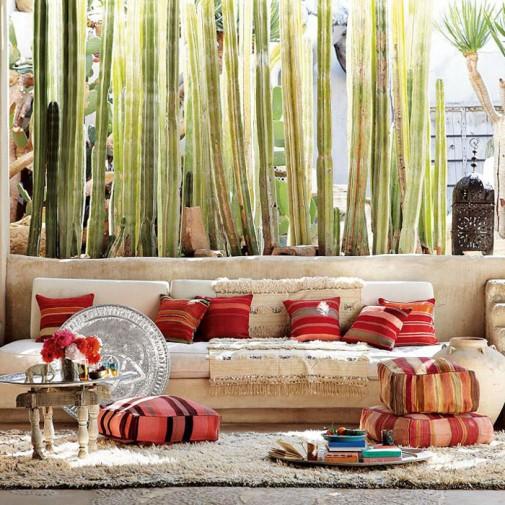 Jastuci i jastučići kao dekoracija u dnevnoj sobi slika2