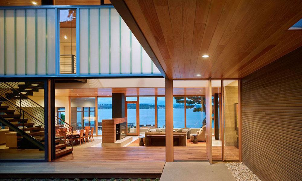 Kuća na obali jezera