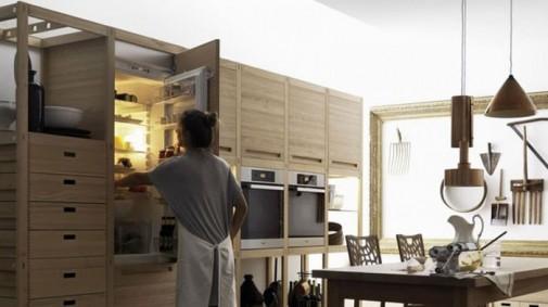 Kuhinja od drveta prepuna detalja slika3