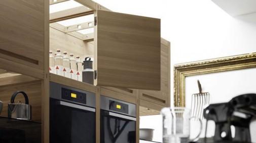 Kuhinja od drveta prepuna detalja slika5