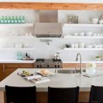 Kuhinje sa otvorenim policama