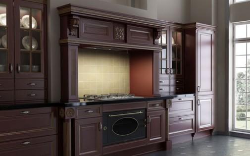 Luksuzni klasični dizajn kuhinje slika3