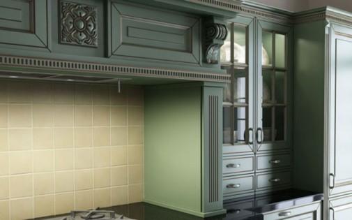 Luksuzni klasični dizajn kuhinje slika4