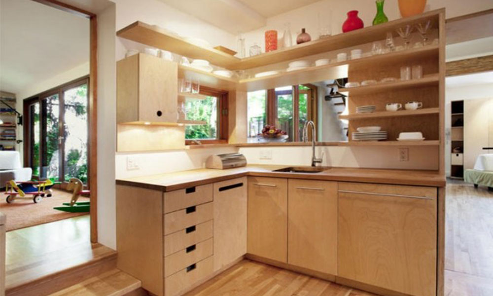 Кухня из фанеры как сделать своими руками