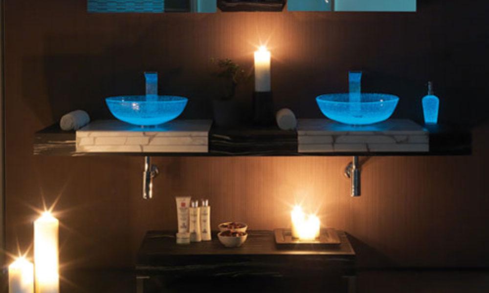 Moderno kupatilo od alabastera