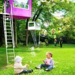 Neobične i raznobojne kućice za drveće