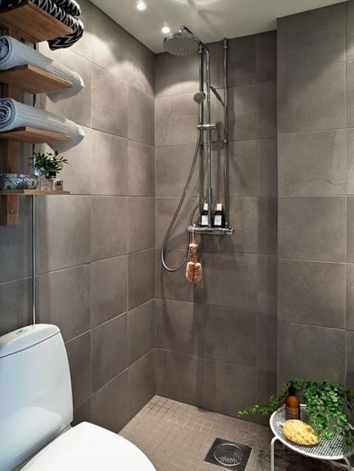 Opuštajući skandinavski dizajn kupatila slika2