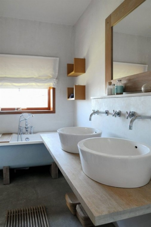 Opuštajući skandinavski dizajn kupatila slika3