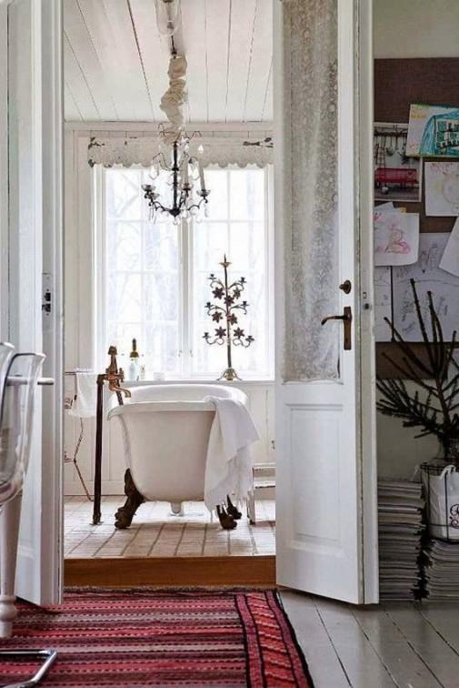 Opuštajući skandinavski dizajn kupatila slika4