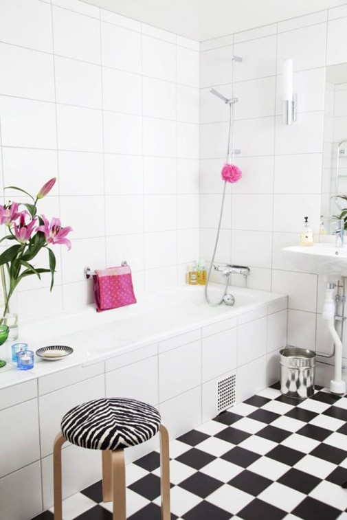 Opuštajući skandinavski dizajn kupatila slika5