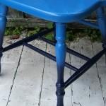 Plava ombre stolica