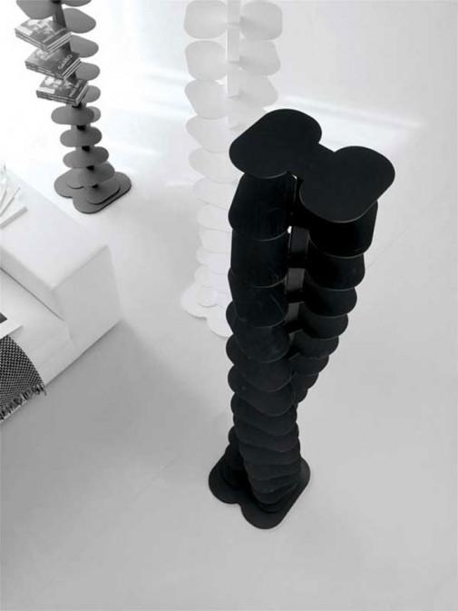 Polica za knjige u obliku spirale slika2