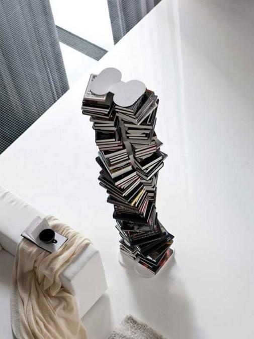 Polica za knjige u obliku spirale slika4