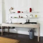 Ručno izrađena drvena kuhinja