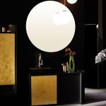 Senzualno i elegantno zlatno kupatilo