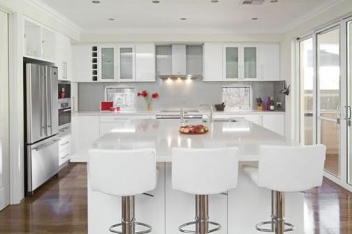 Šik bele kuhinje za 2014 slika4
