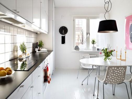 Šik bele kuhinje za 2014 slika6