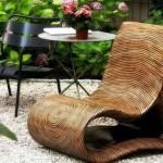 Sofisticirane drvene stolice