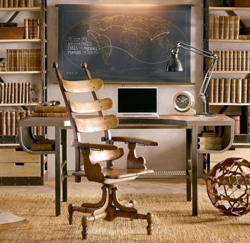 Sofisticirane drvene stolice slika4